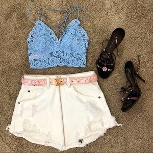 LF Carmar Beatrice Front Zip Skirt